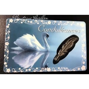 Carte condoléances