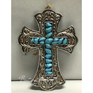 Croix incrustée