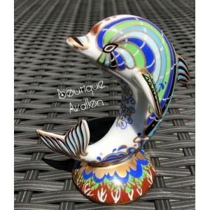 Dauphin en porcelaine