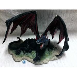 Dragon bleu marine