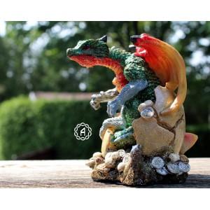 Dragon coloré