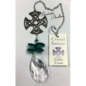 Cristal avec motif celtique