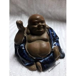 Bouddha rieur assis