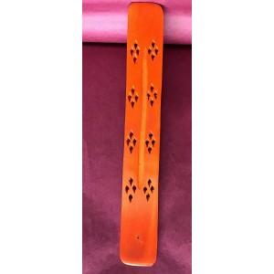 Brûleur encens orange