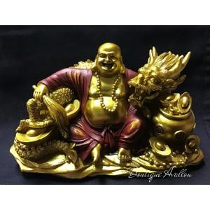 Bouddha avec dragon
