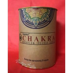 Cônes à reflux Chakras