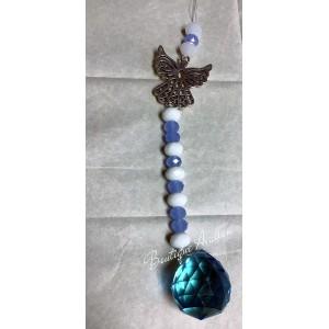 Prisme bleu et ange